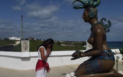 The Goddess Ixchel and Cozumel, Mexico by Veronica Iglesias